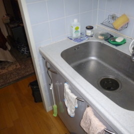 分譲マンションの台所のキッチンリフォーム施工事例|東京都品川区大井町にお住まいのお客様