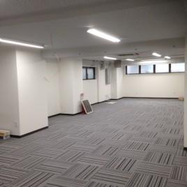 奥行を広く演出するための床の貼り替え|東京都大田区中馬込のSハイツ