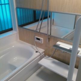 使用感あふれるバスルームをリニューアル|東京都品川区大井の某マンション