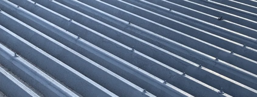 マンションの折板屋根