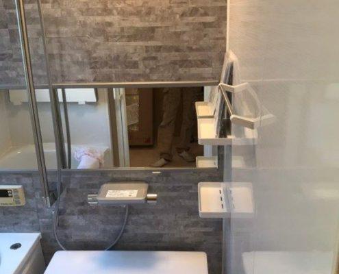 浴室のリフォーム工事