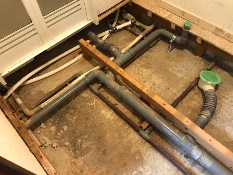 排水管の補修