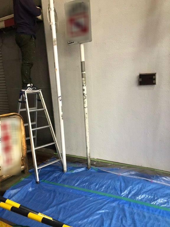 外壁の改修・塗装工事後