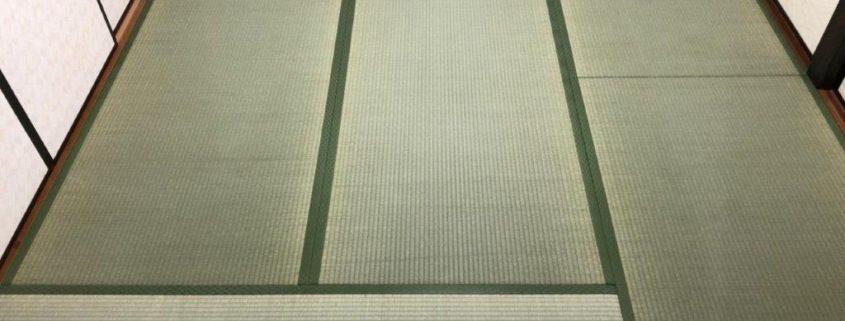 床の張り替え・畳の入れ替え工事後