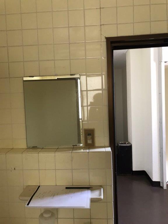 共用トイレの改修工事前