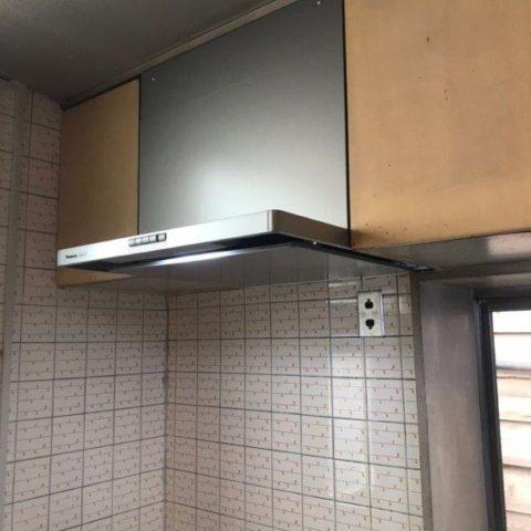 キッチンレンジフード交換・取り付け工事